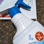 消毒用スプレー 本の油性ペンの消し方